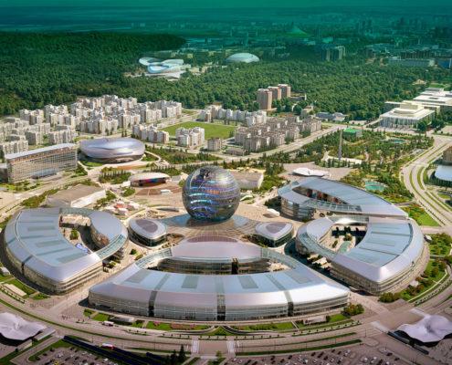 ASTANA EXPO ÉPÜLETEGYÜTTES, ASTANA